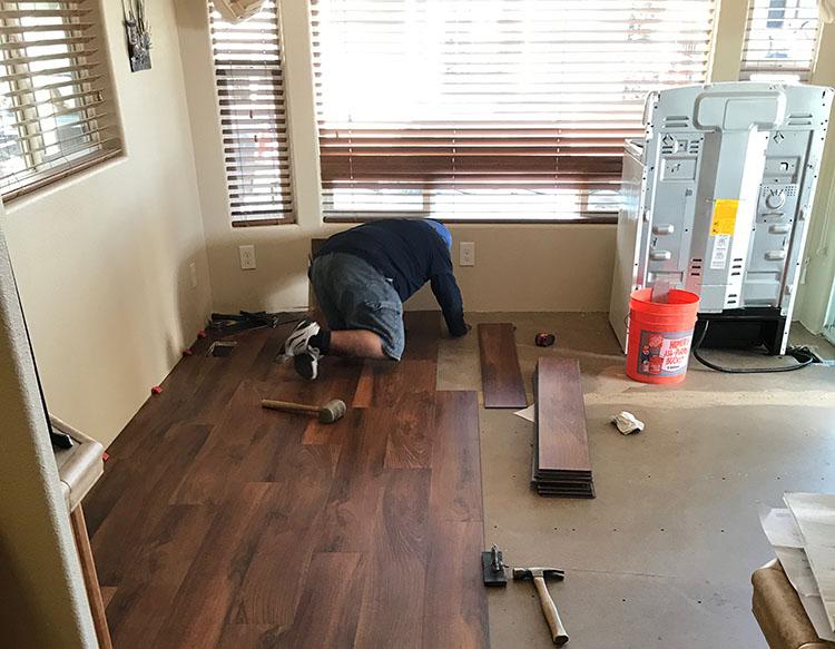 flooring installation Buckeye AZ