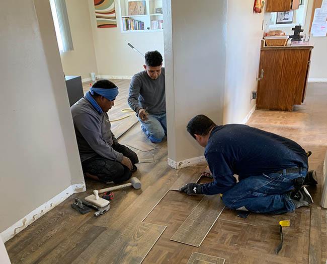 flooring installation contractors